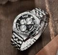 นาฬิกา BENYAR พรีเมียม สายสแตนเลส หน้าปัดดำสวยหรูมาก